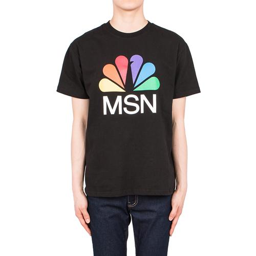 프린팅  1/2 TEE-2컬러-MSN