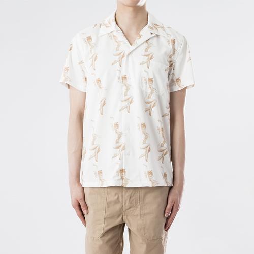 하와이안 셔츠 - 누드.와코.M