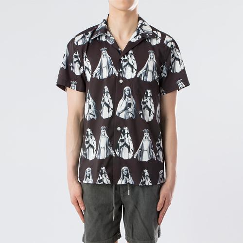 하와이안 셔츠 - 마리아.와코.M