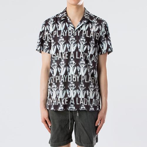 하와이안 셔츠 - 스크림.와코.M