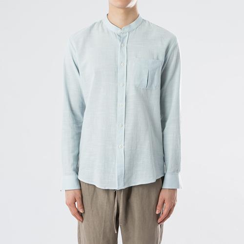차이나카라 린넨 셔츠-3컬러