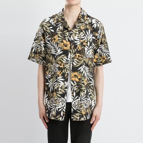 린넨 하와이안 1/2 셔츠(2컬러)-모히또